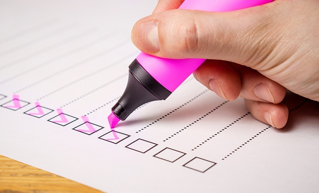 HippoLogic advises to use checklist and write down your horse training goals