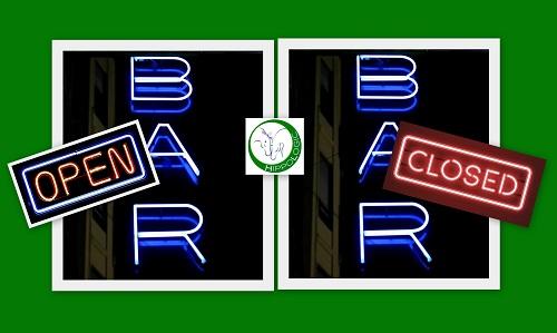Open bar- Closed bar technique