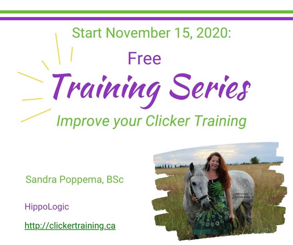 Free Training series to celebrate the HippoLogic Clicker Training Academy