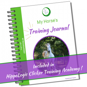 Free Clicker Training Journal for Members of the HippoLogic Clicker Training Academy